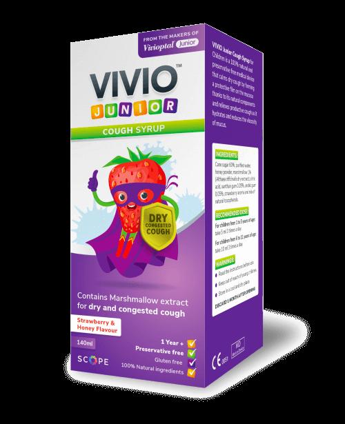 Vivio Junior Cough Product Shot